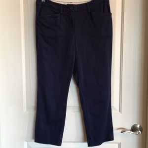 Lands' End cropped chinos